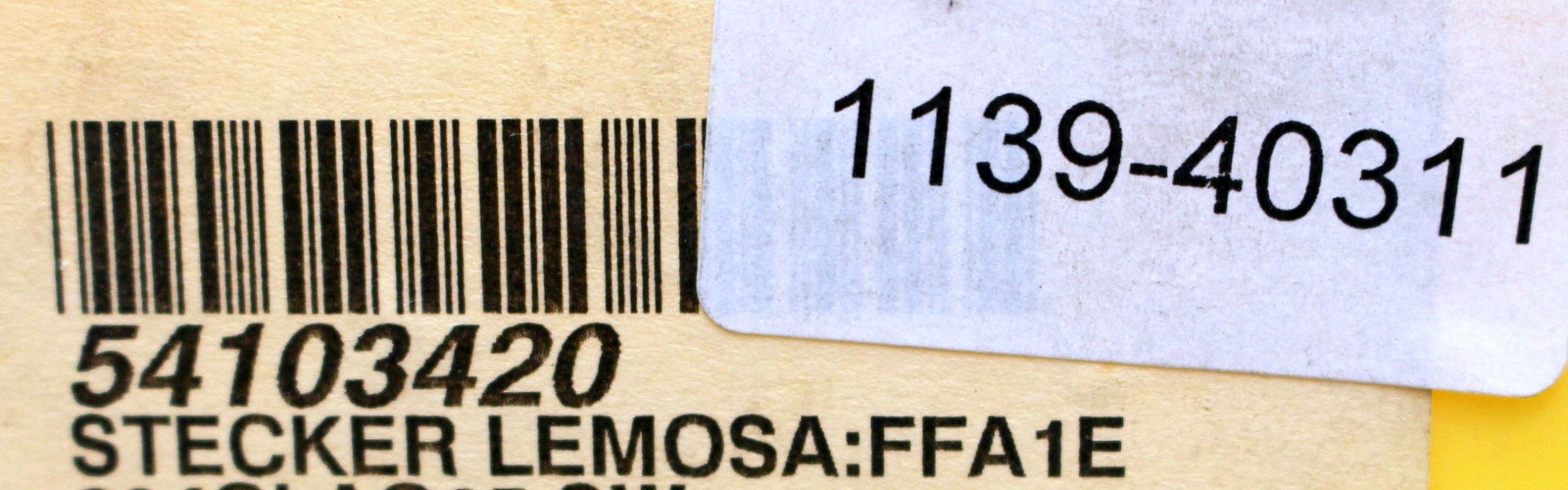 LEMO Stecker LEMO Connector FFA.1E.304.CLAC65 SW 1 Stück