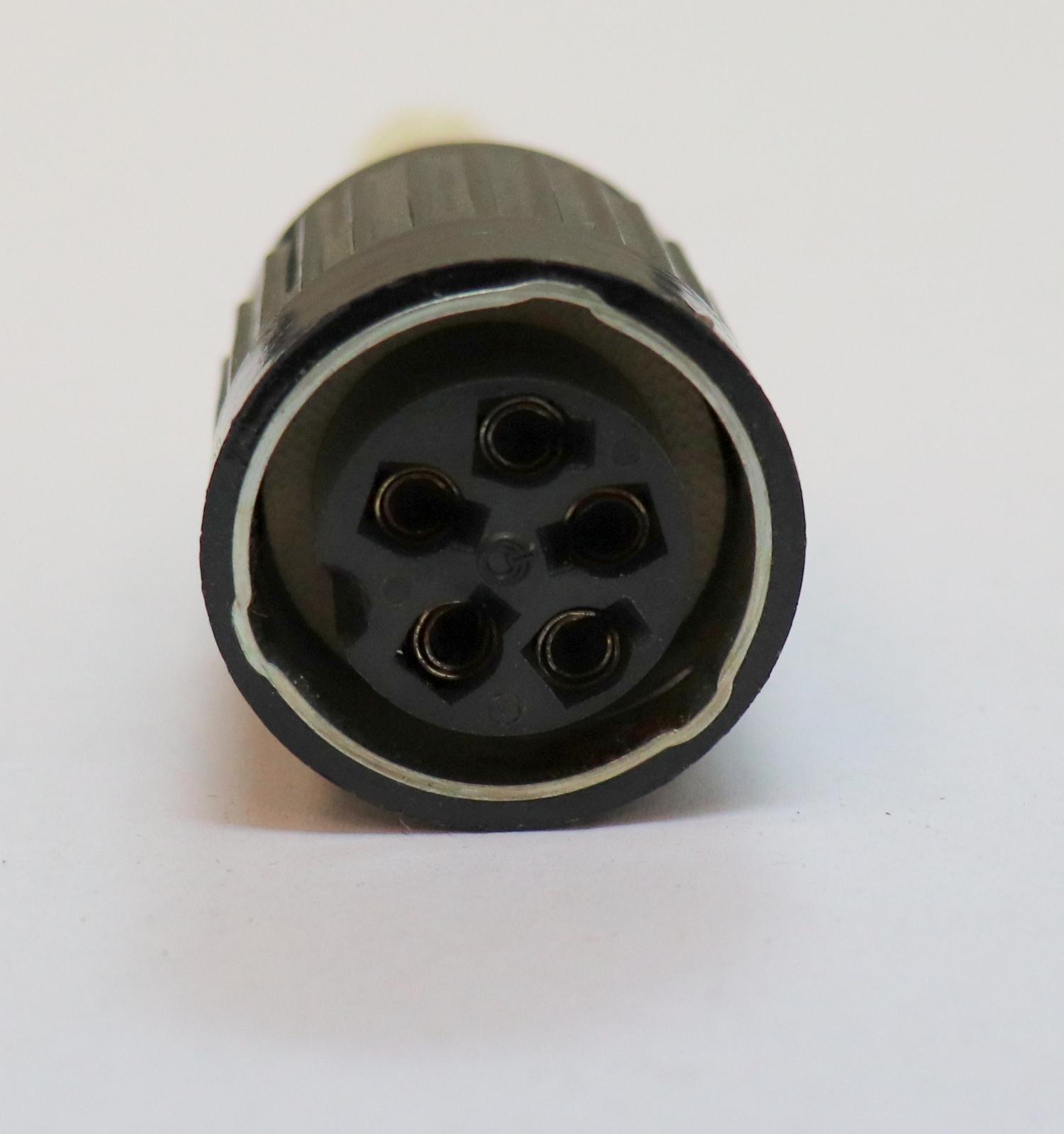 AMPHENOL TUCHEL Kabelbuchse mit Bajonettverriegelung 5-polig T3013-002