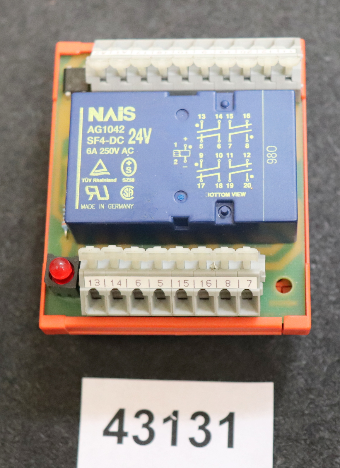 Wago Relay Board Modul Din Rail Mount 139 288 Mit 18 Ports Nais Circuit Mounting Bracket For Ebay 1 Sur 8 Ag1042