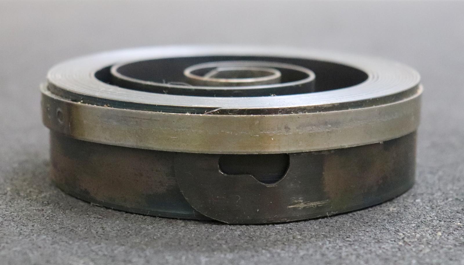 WEBO Rückholfeder für Bohrmaschine D=138mm B=40mm ST=1,2
